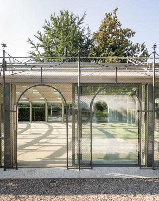 Pavilion at Villa Necchi Campiglio