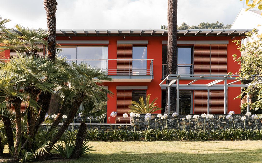 Single family villa on the Italian Riviera