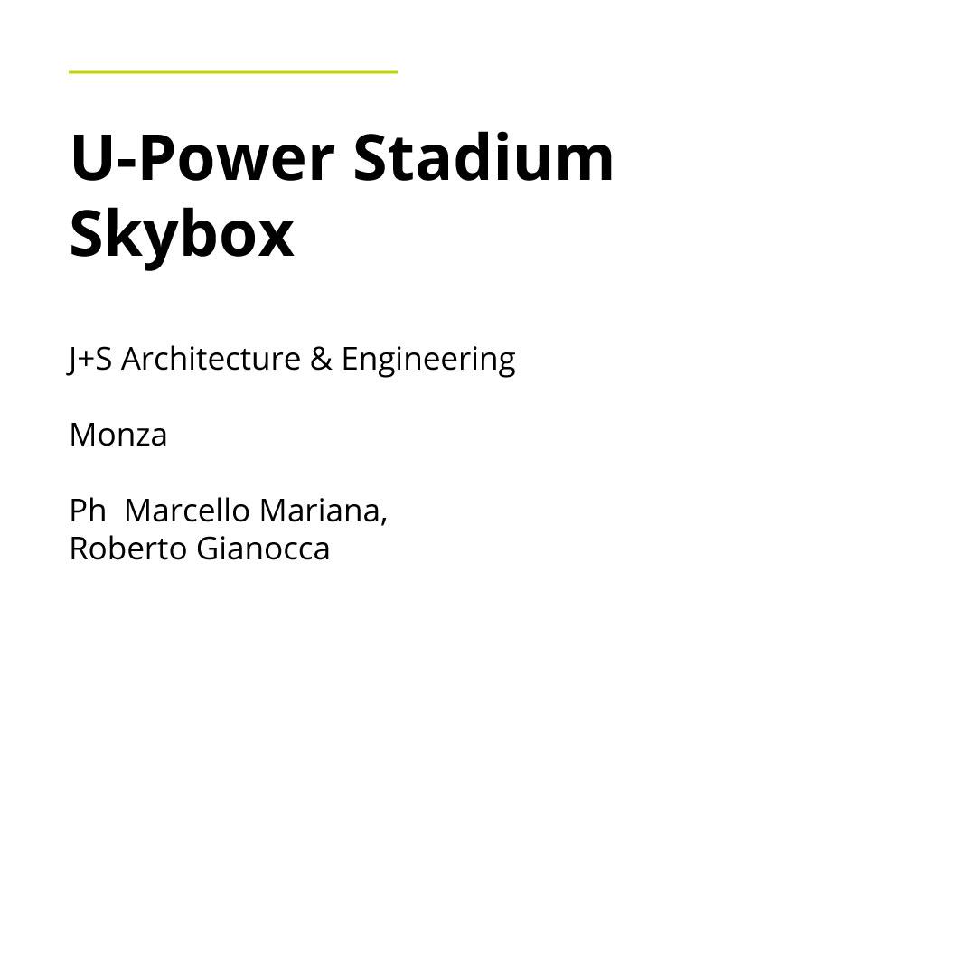 Godersi la partita dalla posizione migliore. Thema ha partecipato da protagonista al progetto degli sky box di ultima generazione dello stadio di Monza. I salotti vip, pensati per far vivere un'esperienza unica che possono ospitare 10 persone ciascuno.